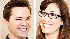 Snap, Crackle, Pops! Andrew Rannells & Stephanie J. Block Practice at Carnegie Hall