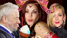 Hot Shots! Stephen Sondheim's Honored, Hugh Jackman's Jacked, Priscilla Presley's a Genie & More
