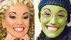 Exclusive Photos! Go Backstage with Caroline Bowman & Kara Lindsay as They Become <I>Wicked</I>'s New Witches