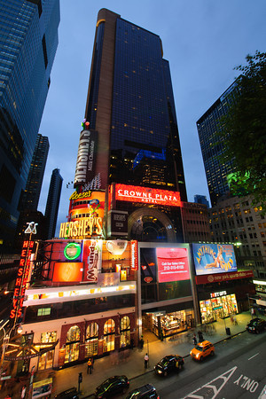 The Crowne Plaza Times Square