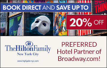 The preferred hotel partner of Broadway.com