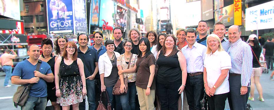 The Group Sales Box Office / Broadway.com Team
