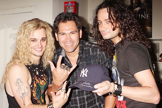 Mets and Yankees at Rock of Ages - Jeremy Woodard - Johnny Damon - Constantine Maroulis
