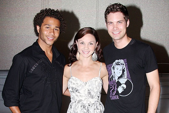 Corbin Bleu at Little Mermaid - Corbin Bleu - Chelsea Morgan Stock - Drew Seeley
