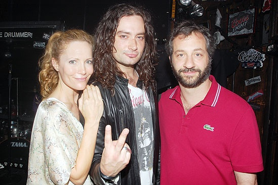 Judd Apatow and Leslie Mann at Rock of Ages - Leslie Mann - Constantine Maroulis - Judd Apatow