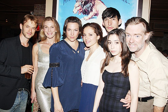 The Retributionists Opening Night – Adam Rothenberg – Margarita Levieva – Adam Driver – Cristin Milioti – Lusia Strus – Rebecca Henderson – Hamilton Clancy