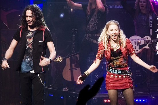 Kerry Butler first performance in Rock of Ages – Kerry Butler – Constantine Maroulis