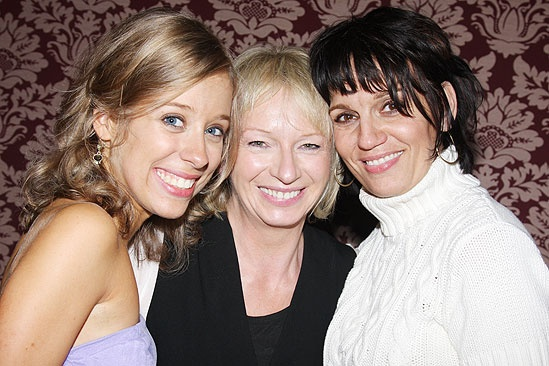 Beth Leavel debut in Mamma Mia  Beth Leavel  Alyse Alan Louis  Judy Craymer