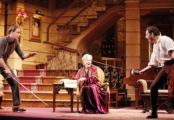 Royal Family - Show Photos - Rufus Collins - Rosemary Harris - Reg Rogers