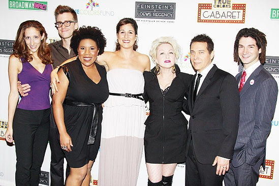 True Colors Cabaret - Gavin Creel - Cyndi Lauper - Allison Seidner - Melinda Doolittle - Stephanie J. Block - Michael Feinstein - Adam Wachter