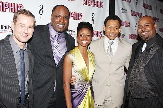 Memphis Opening - Chad Kimball - J. Bernard Calloway - Montego Glover - Derrick Baskin - James Monroe Iglehart