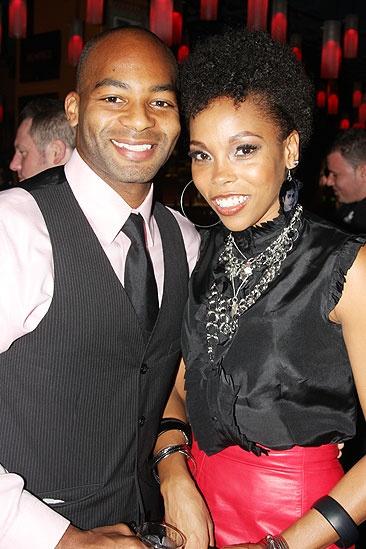 Memphis Opening - Brandon Victor Dixon - Dionne Figgins