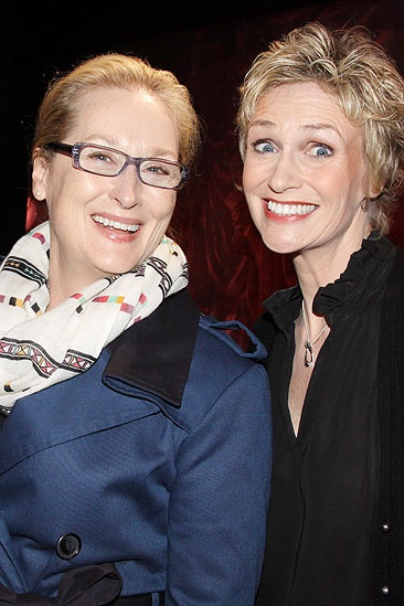 Meryl Streep at Love, Loss and What I Wore – Meryl Streep – Jane Lynch