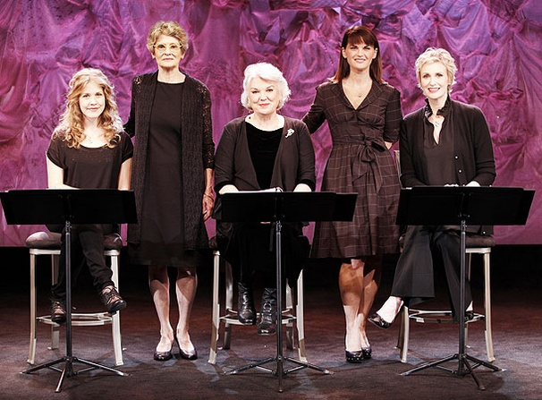 Love, Loss and What I Wore - Show Photos - Mary Louise Wilson - Lisa Joyce - Tyne Daly - Jane Lynch - Mary Birdsong (posed)