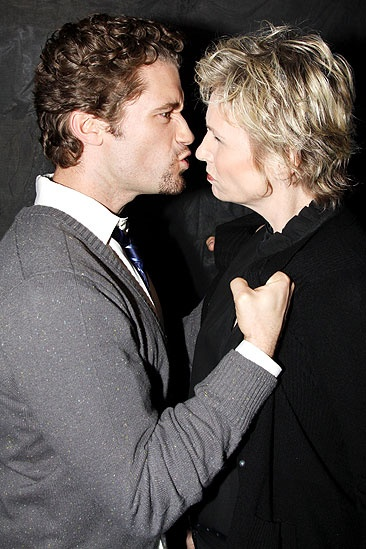 Matthew Morrison at Love, Loss and What I Wore - Matthew Morrison - Jane Lynch