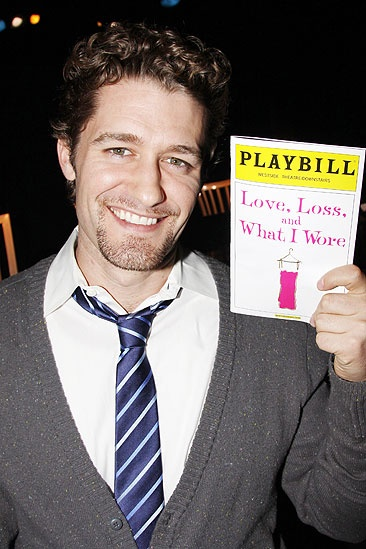 Matthew Morrison at Love, Loss and What I Wore - Matthew Morrison