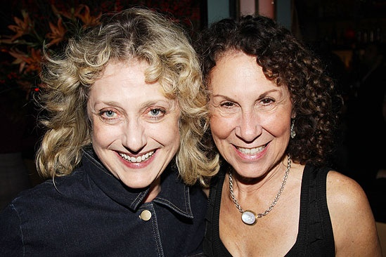 November 2009 cast of Love, Loss – Carol Kane – Rhea Perlman