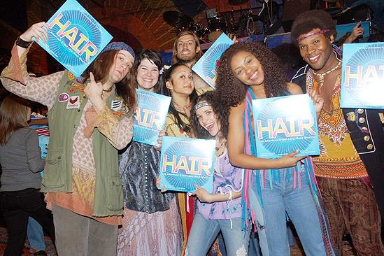 Hair Vinyl Release – cast members