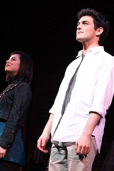 Addams Family Chicago opening – cc – Krysta Rodriquez – Wesley Taylor