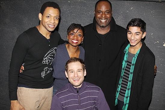 Priscilla Presley at Memphis - Derrick Baskin - Montego Glover - Chad Kimball - J. Bernard Calloway - Mark Indelicato