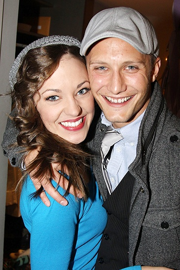 Laura Osnes South Pacific Return  Nathan Johnson  Laura Osnes