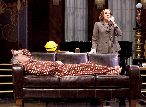Present Laughter - Show Photos - Victor Garber - Harriet Harris