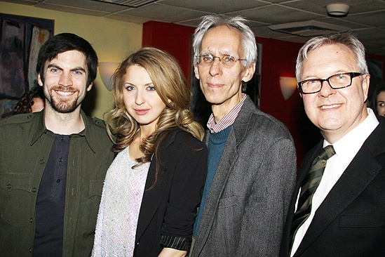 Venus in Fur opening – Wes Bentley – Nina Arianda – David Ives – Walter Bobbie