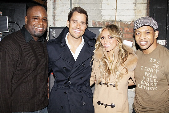 Giuliana & Bill and Adrienne Bailon at Memphis – J. Bernard Calloway – Bill Rancic – Giuliana Rancic – Derrick Baskin