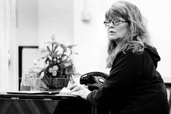 The Glass Menagerie Rehearsal – Judith Ivey