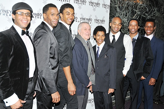 Vineyard Gala Honoring John Kander – Scottsboro Boys cast