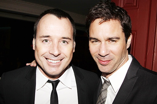Next Fall Opening Night  David Furnish  Eric McCormack