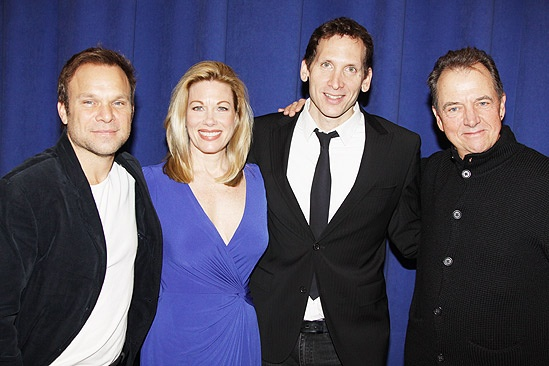 Enron meet and greet – Norbert Leo Butz – Marin Mazzie – Stephen Kunken – Gregory Itzin