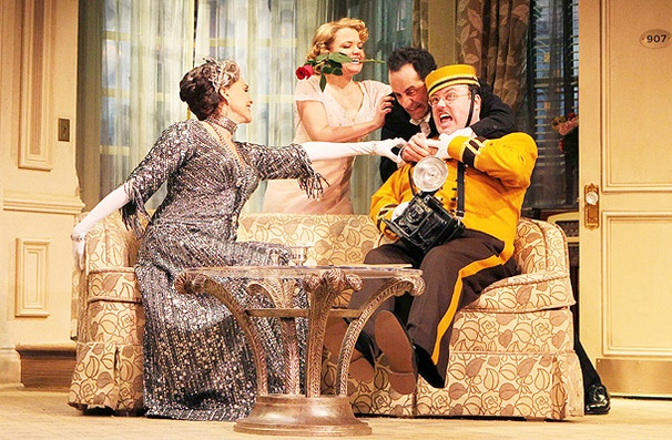 Show Photos - Lend Me a Tenor - Brooke Adams - Mary Catherine Garrison - Tony Shalhoub - Jay Klaitz
