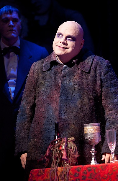 Show Photos - Addams Family (bway) - Zachary James - Kevin Chamberlin