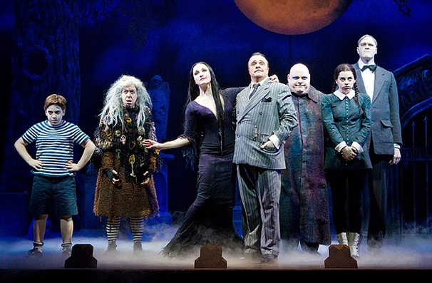 Show Photos - The Addams Family (bway) - cast full