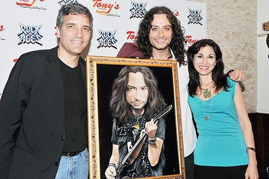 Constantine Maroulis at Tonys DiNapoli – Bruce Dimpflmaier – Constantine Maroulis – Valerie Smaldone