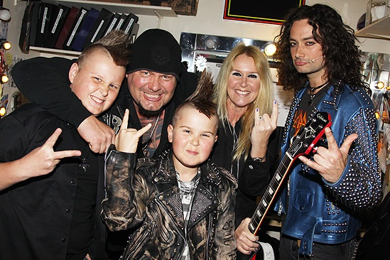 Lita Ford at Rock of Ages – Jim Gillette – Lita Ford – Constantine Maroulis
