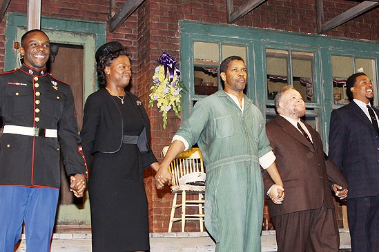 Fences Opening Night – curtain call