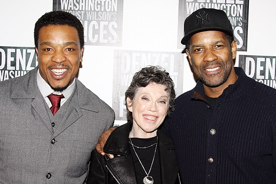 Fences Opening Night – Russell Hornsby – Carole Shorenstein Hays – Denzel Washington