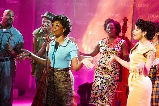 Memphis on Today Show  Montego Glover  ensemble
