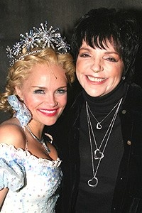 Liza Minnelli at Wicked - Kristin Chenoweth - Liza Minnelli