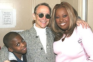 Ray Romano at Wicked - boy Justin - Joel Grey - Star Jones