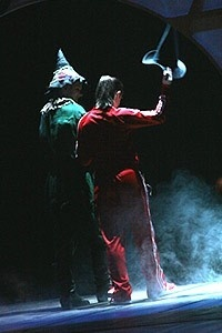 Idina Menzel Final Wicked Performance - Onstage - Joey McIntyre - Idina Menzel