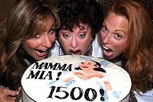 Mamma Mia 1500 Perfs - Judy McLane - Liz McCartney - Carolee Carmello