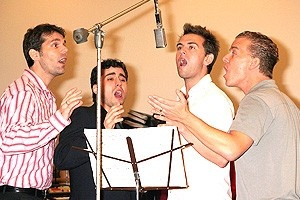 Jersey Boys Press Preview - J. Robert Spencer - John Lloyd Young - Daniel Reichard - Christian Hoff