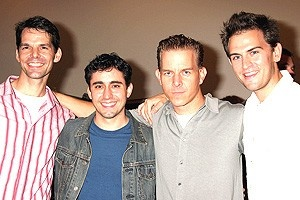 Jersey Boys Press Preview - J. Robert Spencer - John Lloyd Young - Christian Hoff - Daniel Reichard