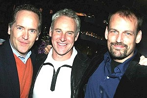 Pawk/Dossett Mamma Mia party - David Beach - John Dossett - Mark L. Montgomery