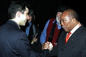 Quincy Jones at Jersey Boys - John Lloyd Young - Quincy Jones