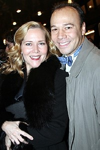 Phantom Record Breaking Party - Rebecca Luker - Danny Burstein