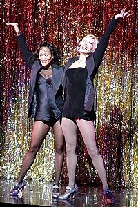 Chicago New Stars Givens O'Hurley - Robin Givens - Amra-Faye Wright - final number